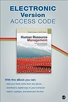 Human Resource Management Electronic Version