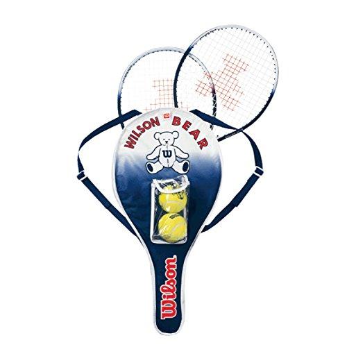 Wilson(ウイルソン) ジュニア用硬式テニスラケットセッ...