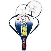 Wilson(ウイルソン) ジュニア用硬式テニスラケットセット [ガット張り上げ済] BEAR RACKET SET (ベアーラケットセット) WRT6164E
