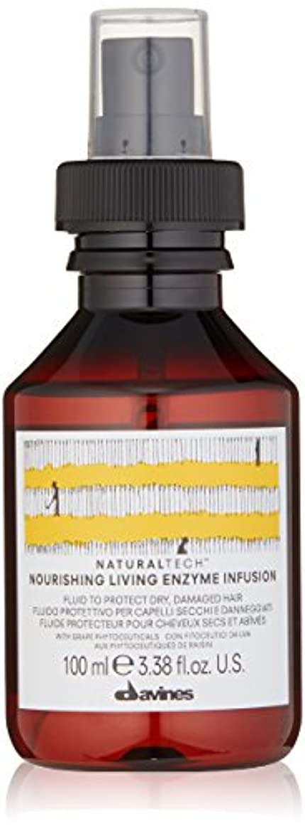 株式獲物典型的なダヴィネス Natural Tech Nourishing Living Enzyme Infusion (To Protect Dry, Damaged Hair) 100ml/3.38oz
