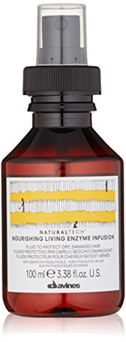 長くする垂直雄弁なダヴィネス Natural Tech Nourishing Living Enzyme Infusion (To Protect Dry, Damaged Hair) 100ml/3.38oz