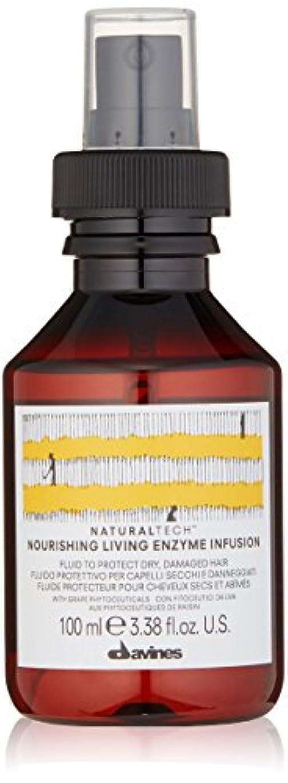 配管区画オンスダヴィネス Natural Tech Nourishing Living Enzyme Infusion (To Protect Dry, Damaged Hair) 100ml/3.38oz