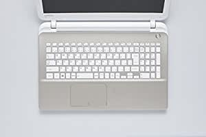 ELECOM キーボードカバー 東芝 dynabook T75/T55対応(一部非対応機種あり) PKB-DBTX10