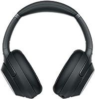 ソニー ワイヤレスノイズキャンセリングヘッドホン WH-1000XM3 B : LDAC/Bluetooth/ハイレゾ 最大30時間連続再生 密閉型 マイク付 2018年モデル ブラック