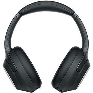 ソニー SONY ワイヤレスノイズキャンセリングヘッドホン WH-1000XM3 B : LDAC/Bluetooth/ハイレゾ 最大30時間連続再生 密閉型 マイク付 2018年モデル ブラック