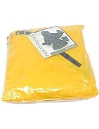 ShedRainパックN ' Anorak Mens XLサイズイエローRain Jacket withファスナー付きケース