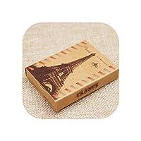 ドリームキャッチャープリントギフトボックスDiy手作り愛結婚式好意ボックス英国/米国国信号ギフトパッケージボックス12ピース+ 12 pcインナーカード,box as pic,12box only
