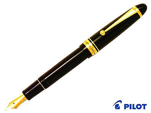 パイロット 万年筆 カスタム743 FKK3000RBFA 黒軸