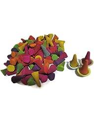 Incense Conesミックスのさまざまな香り(パックof 100 Cones )タイ製品