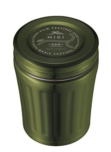 シービージャパン スープジャー 350ml 高耐久 フッ素加工 フードジャー オリーブ midi