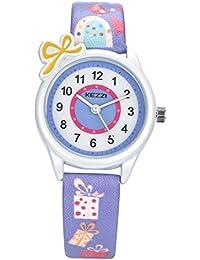 Kezziキッズ 子供用腕時計 女の子用 k1423 パープル