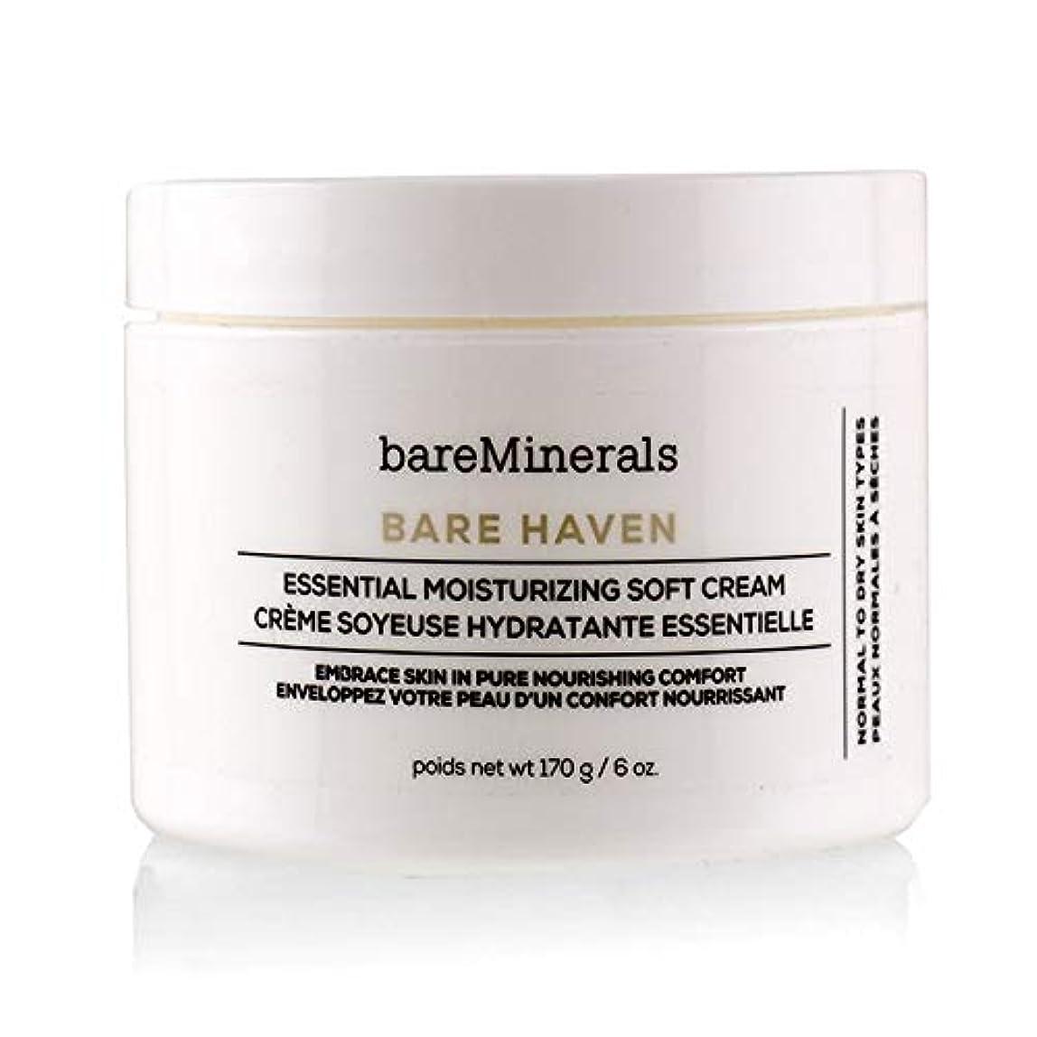 壮大尾大洪水ベアミネラル Bare Haven Essential Moisturizing Soft Cream - Normal To Dry Skin Types (Salon Size) 170g/6oz並行輸入品