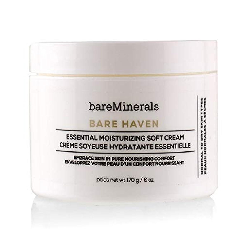 トリプル主要なハブベアミネラル Bare Haven Essential Moisturizing Soft Cream - Normal To Dry Skin Types (Salon Size) 170g/6oz並行輸入品