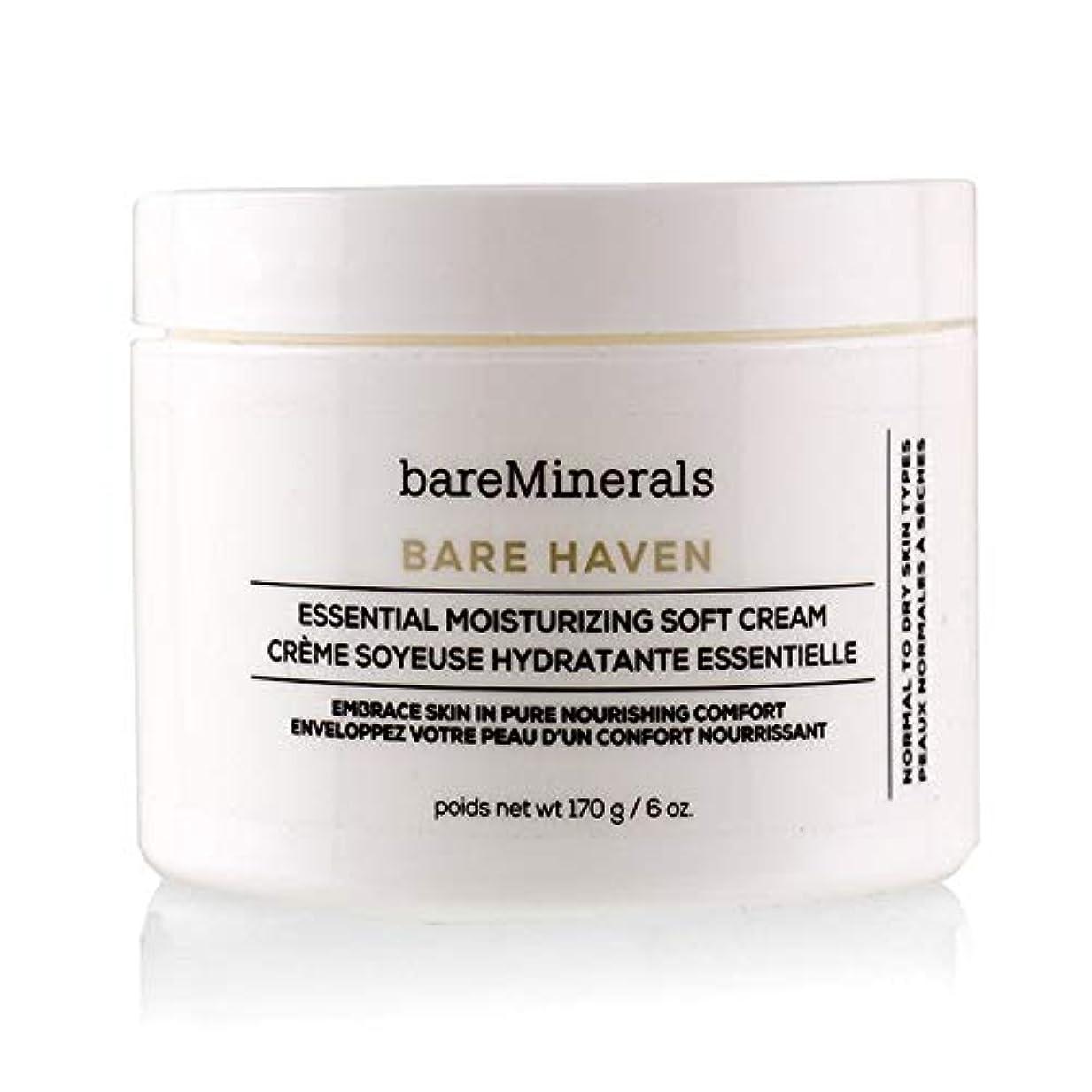 奪う印象的取り消すベアミネラル Bare Haven Essential Moisturizing Soft Cream - Normal To Dry Skin Types (Salon Size) 170g/6oz並行輸入品