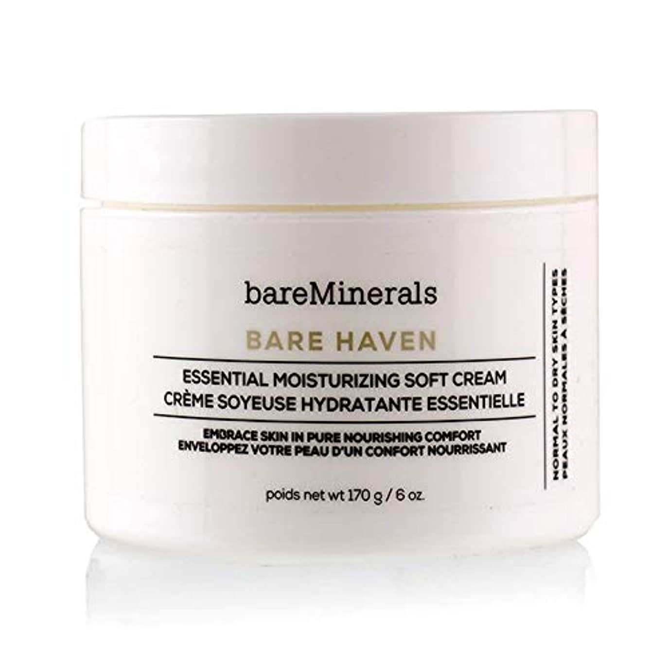 選ぶ導出フレキシブルベアミネラル Bare Haven Essential Moisturizing Soft Cream - Normal To Dry Skin Types (Salon Size) 170g/6oz並行輸入品