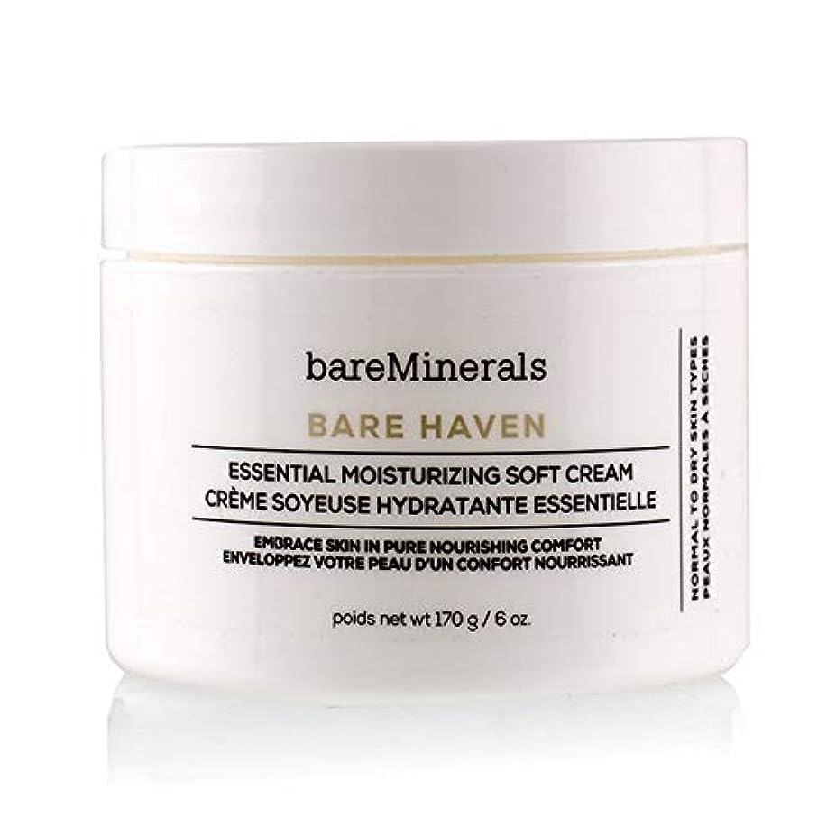 欲求不満反対した決定ベアミネラル Bare Haven Essential Moisturizing Soft Cream - Normal To Dry Skin Types (Salon Size) 170g/6oz並行輸入品
