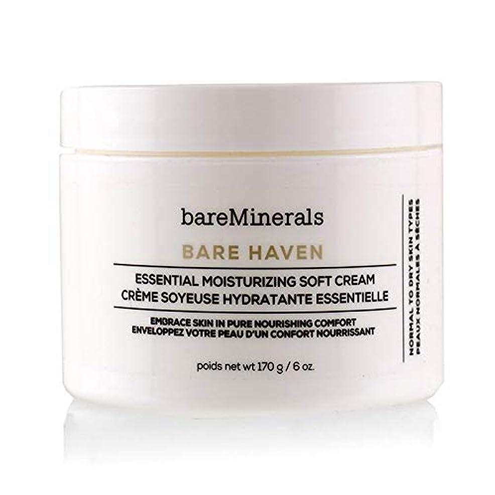ベアミネラル Bare Haven Essential Moisturizing Soft Cream - Normal To Dry Skin Types (Salon Size) 170g/6oz並行輸入品