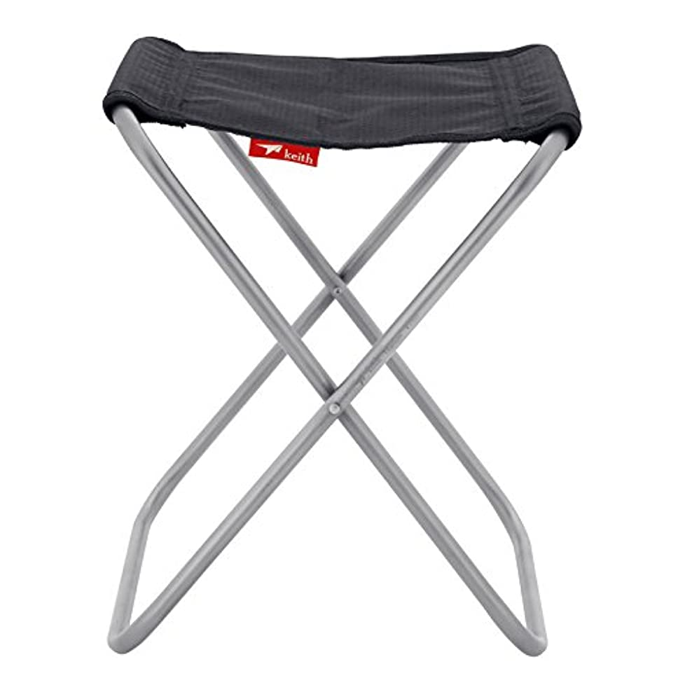 雇った密脇にKeithアウトドア フォールディング チェアチタン椅子キャンプチェア247g