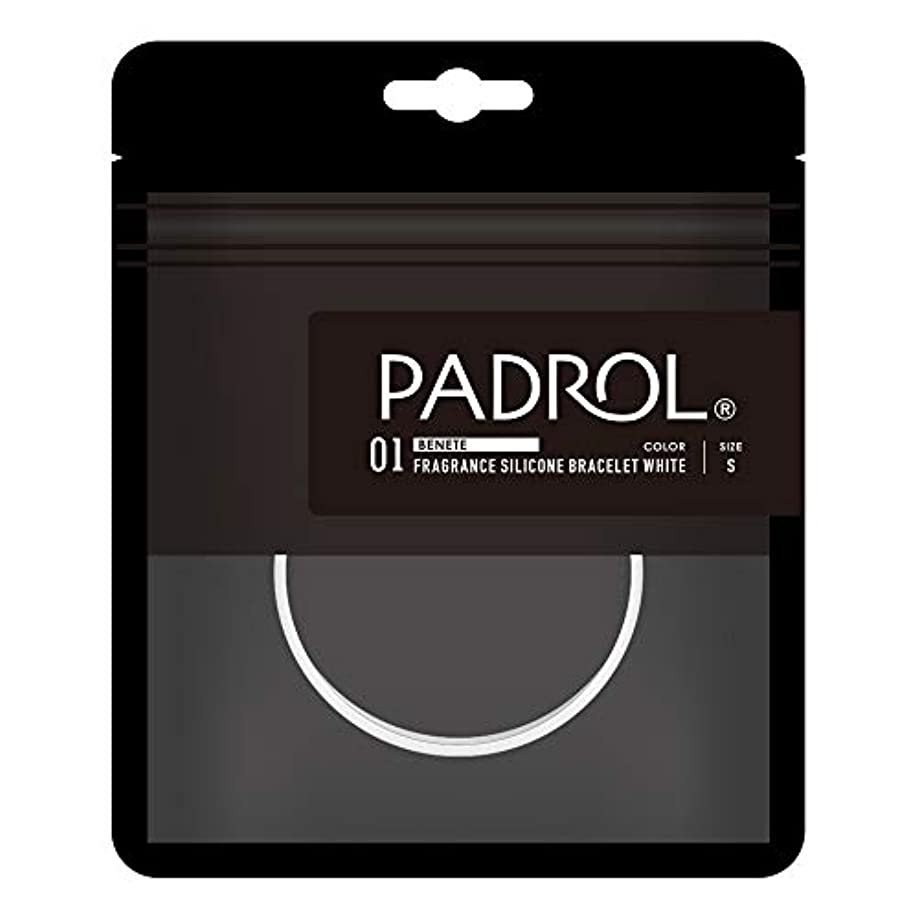 PADROL フレグランス ブレスレット ホワイトムスクの香り シリコン Sサイズ ホワイト PAD-13-01