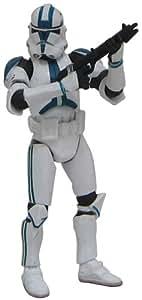 スター・ウォーズ サーガ・レジェンズ ベーシックフィギュアNEW 08年版 クローン・トルーパー 501st部隊バージョン