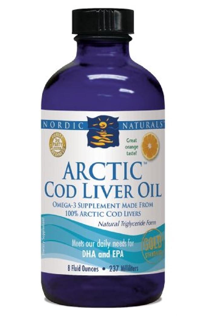 ギャラントリー火薬感じるNordic Naturals 北極圏 CLO - タラ 肝油 オレンジ フレーバー 8 オンス