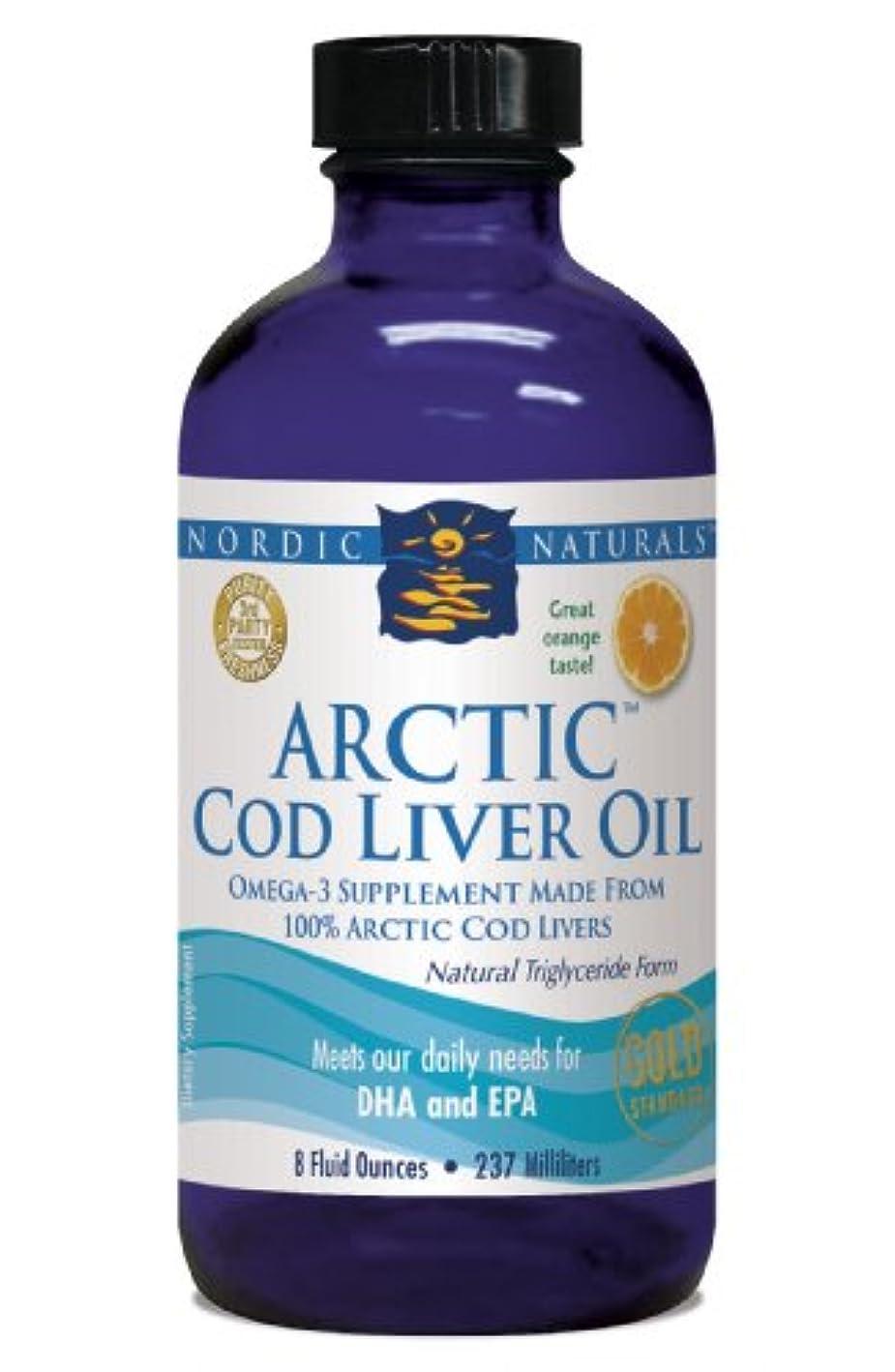 修士号戦略生活Nordic Naturals 北極圏 CLO - タラ 肝油 オレンジ フレーバー 8 オンス
