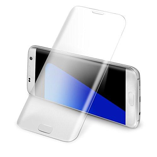 Samsung Galaxy S7 Edge3D全面保護ガラスフィルム [Danyee安心交換保証付] 9H硬度 0.3mm 耐指紋性、油性コーティング、気泡防止 au SCV33 docomo SC-02H ギャラクシーS7 エッジ (Galaxy S7