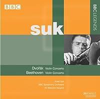 ベートーヴェン:ヴァイオリン協奏曲/ドヴォルザーク:ヴァイオリン協奏曲(スーク/BBC響/サージェント)(1964, 1965)