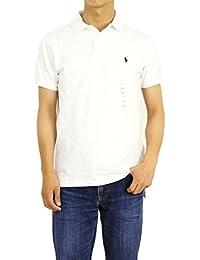 (ポロ ラルフローレン) POLO Ralph Lauren カスタムフィット メンズ ポロシャツ CUSTOM FIT 0105324 [並行輸入品]