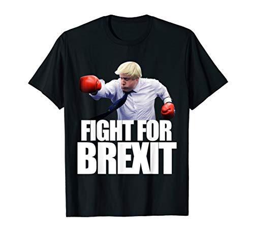 ボリスジョンソンシャツBrexit Tシャツのために戦う