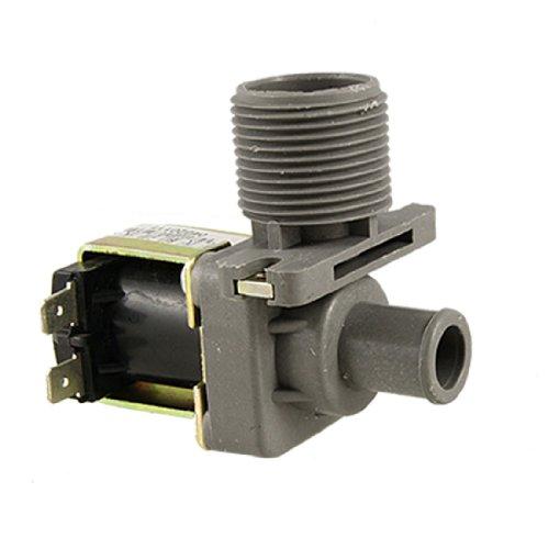 uxcell 水入口電磁弁 ソレノイドバルブ 洗濯機水入口用 90角度 AC 220V