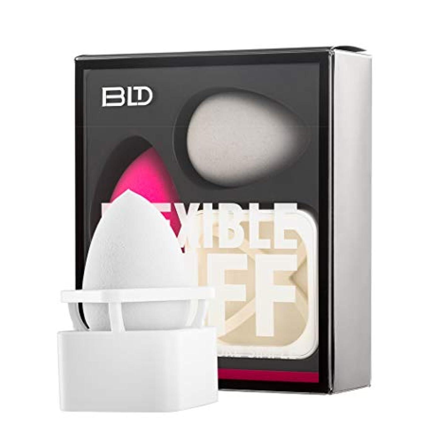 文字通り私たち自身症状BLDスポンジパフ 化粧用スポンジ 化粧ツール 柔軟性 乾湿兼用 ファンデーションを吸わない 斜めカット/しずく型 2個 メイクスポンジ +1個 メイクスポンジホルダー