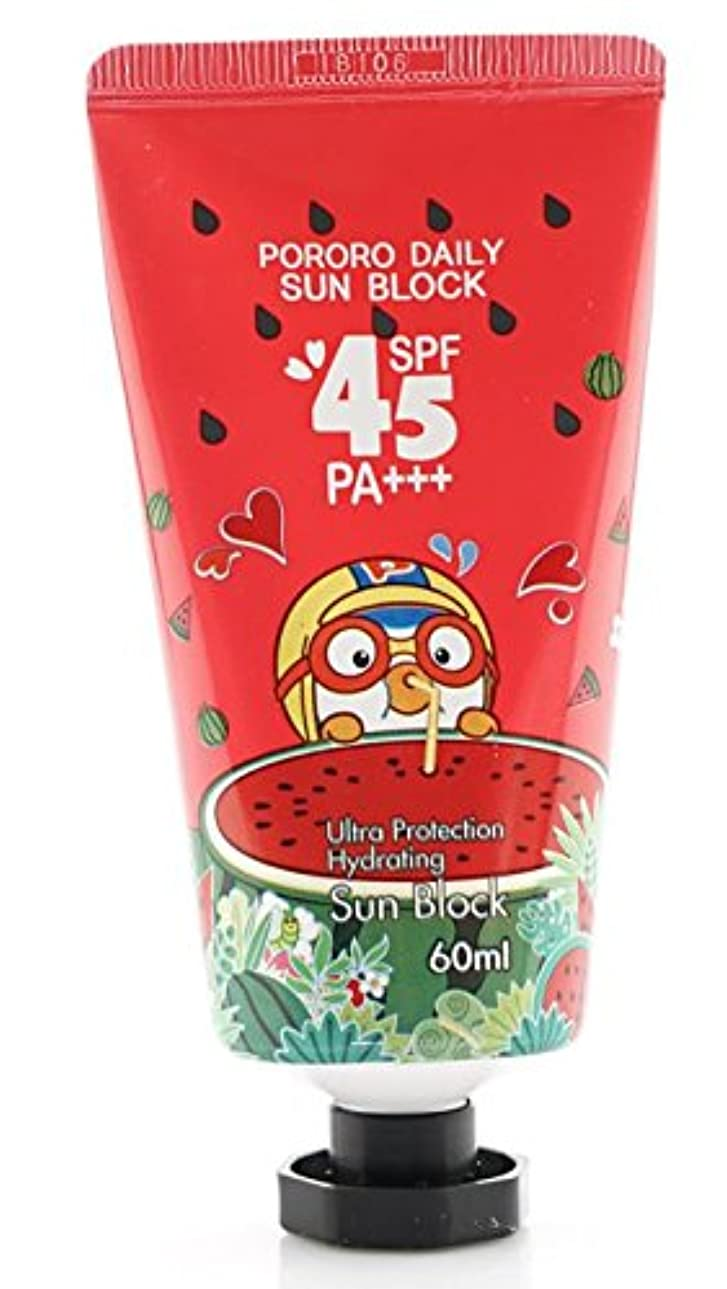宗教欠如PORORO Daily Sun Block 60ml SPF45 PA+++ [並行輸入品]
