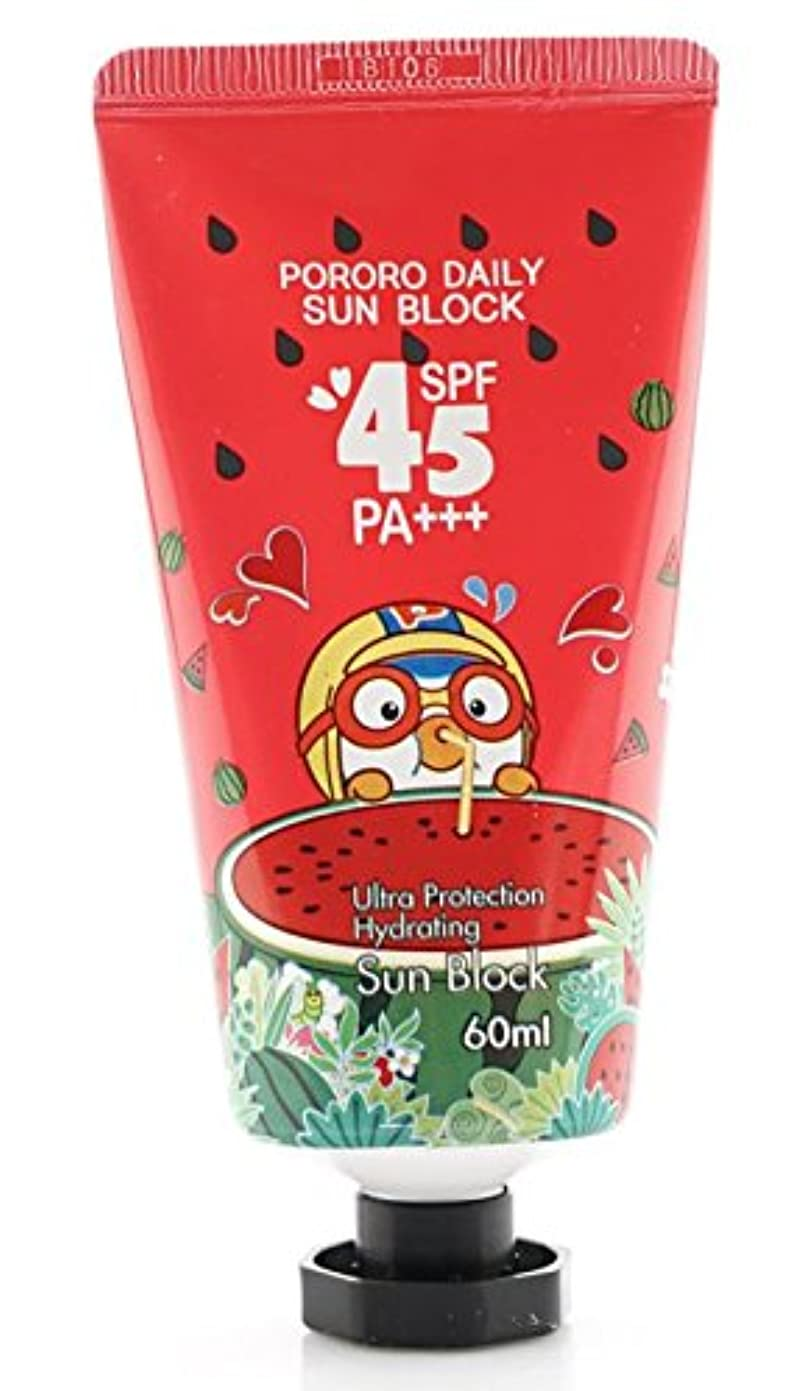 PORORO Daily Sun Block 60ml SPF45 PA+++ [並行輸入品]