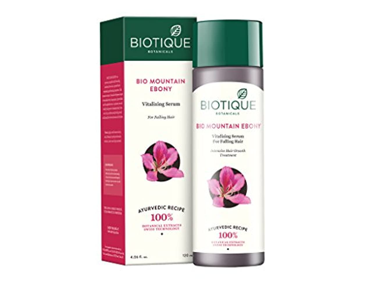 いちゃつく高価な叫ぶBiotique Mountain Ebony Fresh Growth Stimulating Serum for Fine and Thinning Hair