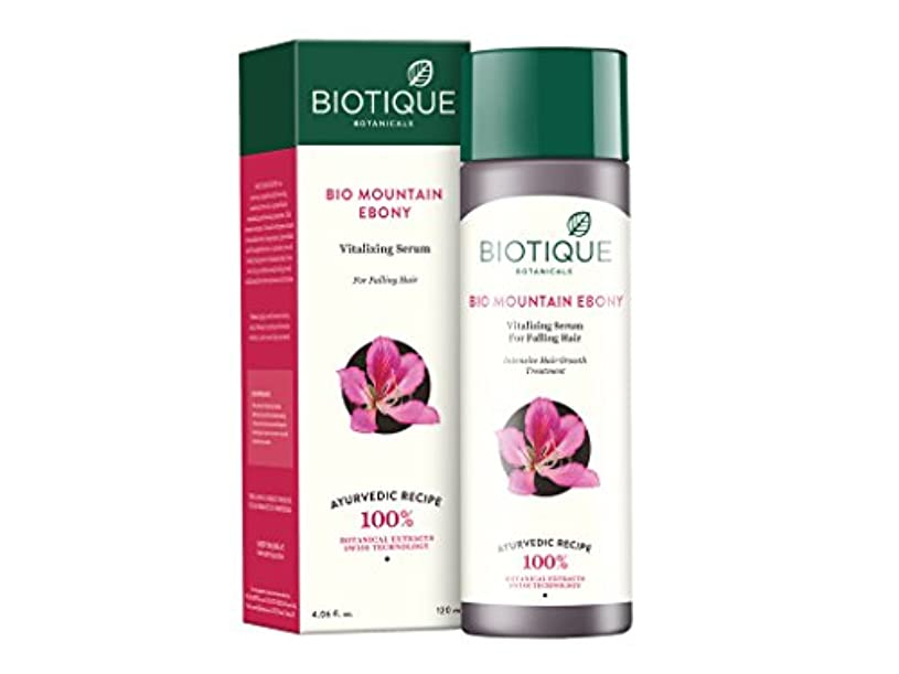ティーム感性ディスクBiotique Mountain Ebony Fresh Growth Stimulating Serum for Fine and Thinning Hair