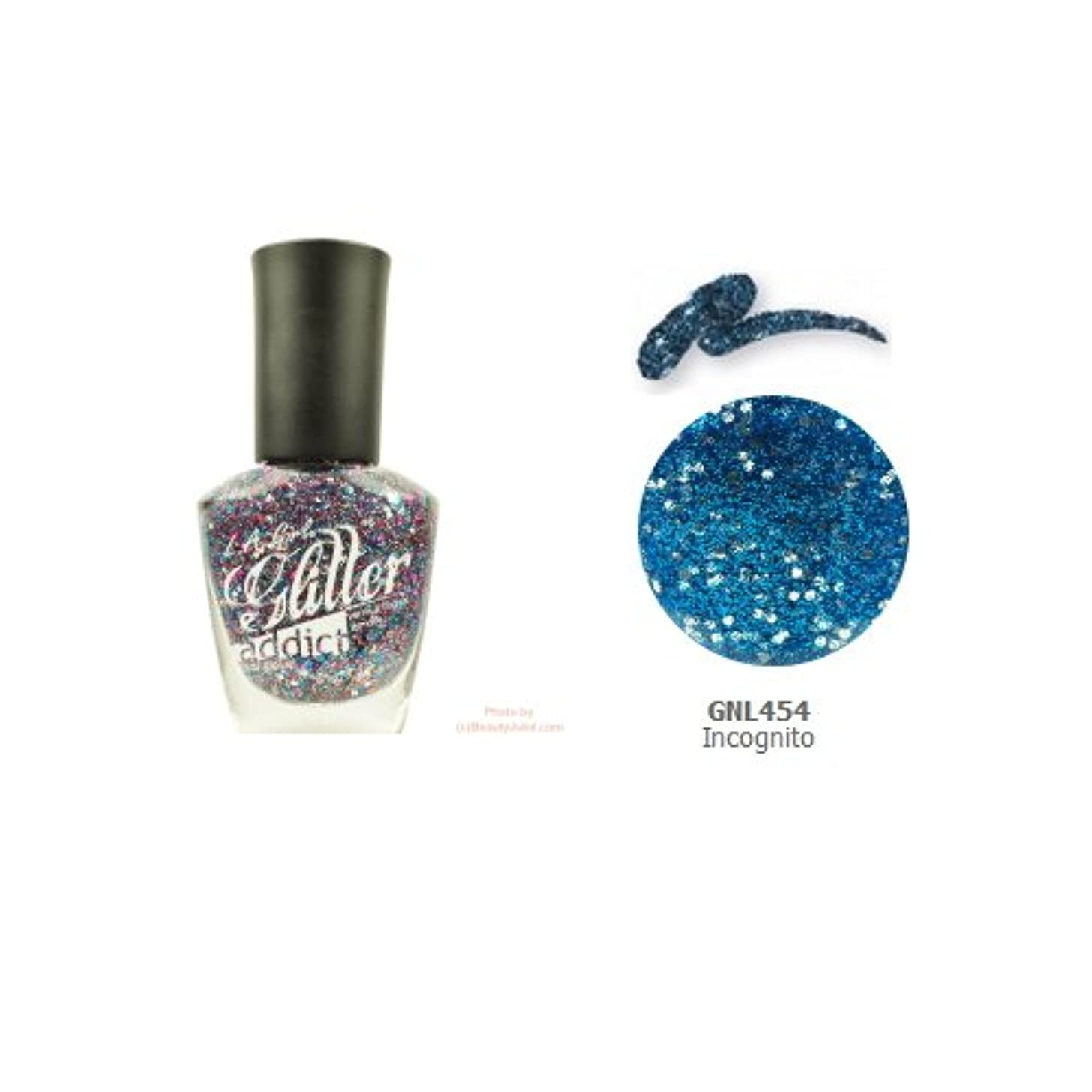 取るに足らない社交的曲(3 Pack) LA GIRL Glitter Addict Polish - Incognito (並行輸入品)