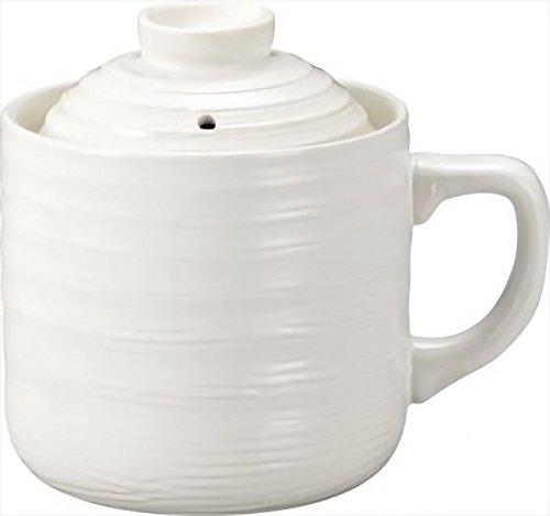 カクセー 電子レンジ専用炊飯陶器 楽炊御膳 T-01 (ホワイト)