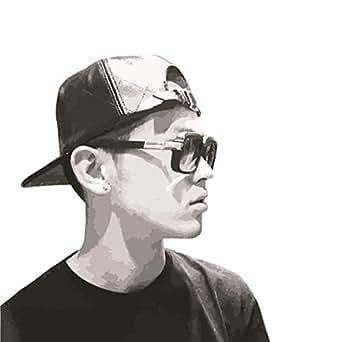 [ハイストリート]T-Pablow ファッション BAD HOP by2143 キャップ 帽子 PU レザー 高級感 ヒップホップ メンズ レディース 男女兼用 ユニセックス 通販[ブラック(黒)]