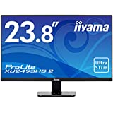 iiyama モニター ディスプレイ (23.8型/フルHD/IPS方式ノングレア/狭額縁/DP,HDMI,D-sub/3年保証)XU2493HS-B2