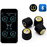 Accreate Bluetooth 4.0 Universal External Tyre Pressure Sensor Support iOS Android Phone Tire Pressure Sensor