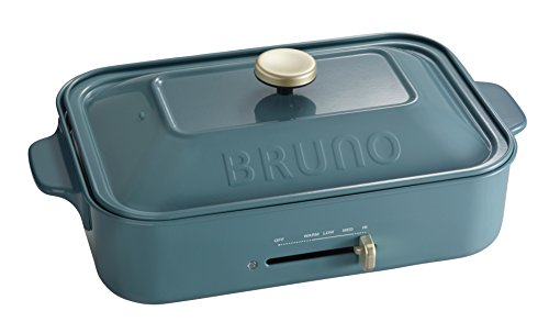 BRUNO コンパクトホットプレート BOE-21 (ブルーノブルー)