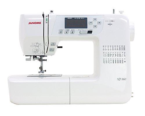 JANOME コンピュータミシン NP860 ホワイト