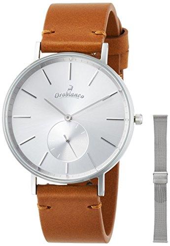[オロビアンコ タイムオラ]Orobianco TIME-ORA 腕時計 センプリチタス メッシュベルト付属タイプ OR-0061-9A  【正規輸入品】