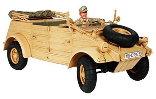 1/16 Pkw.K1 キューベルワーゲン82型 アフリカ/ロンメル元帥付き  36202  タミヤ  T 36202 Pkw.K1 キューベルワーゲン 82 アフリカ  B