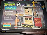 Todd Mcfarlane's Spawn Alley Action Figure Playset w/ Special Edition Comic Book (1994) Boxed Set
