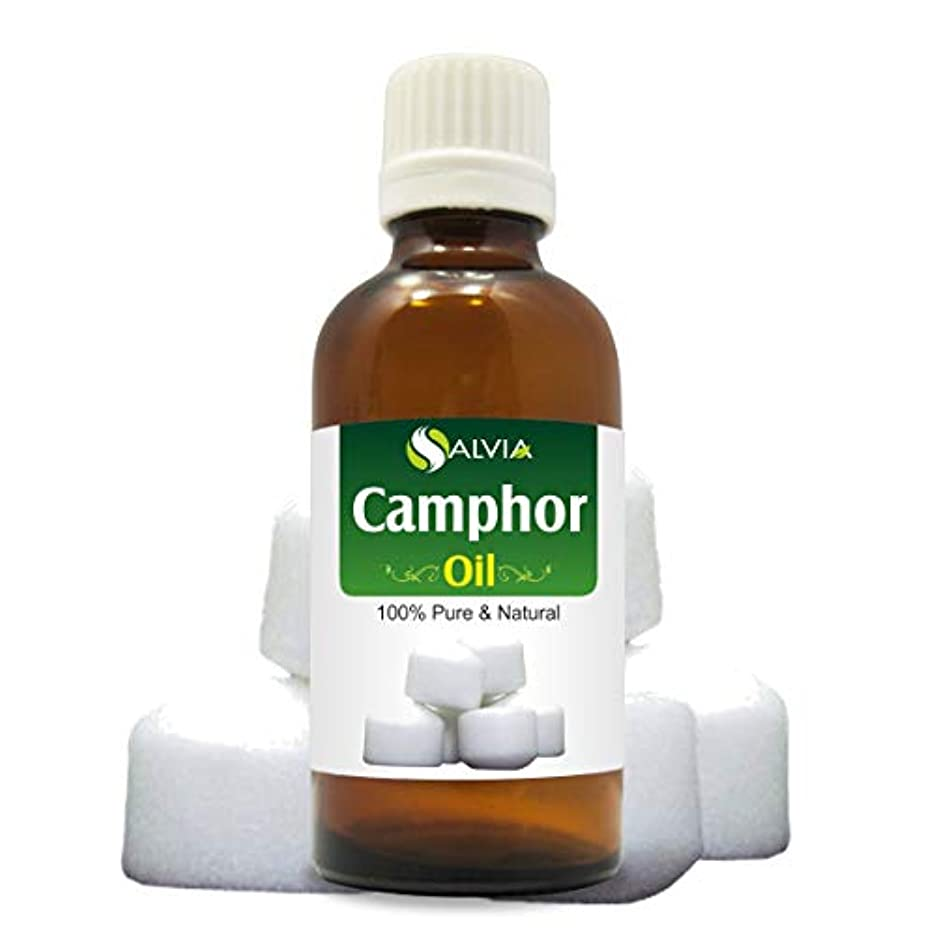 アライメント舌な驚いたことにCamphor 100% Natural Pure Essential Oil 15ml