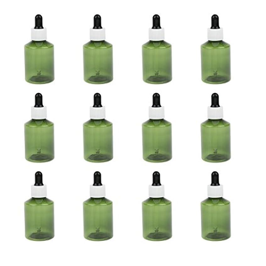 フォーマルハロウィンマルコポーロドロッパーボトル 詰め替え式 点滴びん 50ml エッセンシャルオイル 精油 6仕様選べ - ホワイトキャップブラックドロッパー