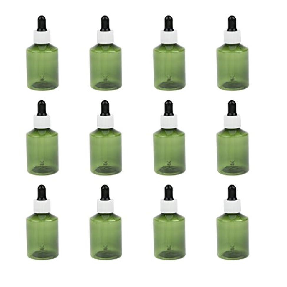 批判するわずらわしいとげドロッパーボトル 詰め替え式 点滴びん 50ml エッセンシャルオイル 精油 6仕様選べ - ホワイトキャップブラックドロッパー