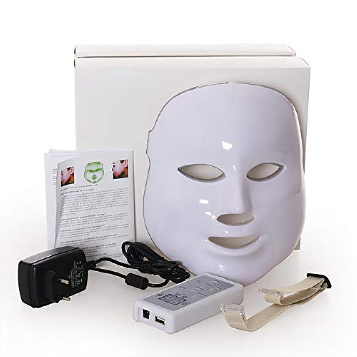 宿命現れるグッゲンハイム美術館Led のマスク、7色はしわ、にきび及び健康な皮の若返りのコラーゲン、反老化の美のマスクのための軽い療法の顔のスキンケアのマスクを導きました